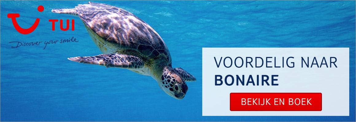 Met TUI naar Bonaire