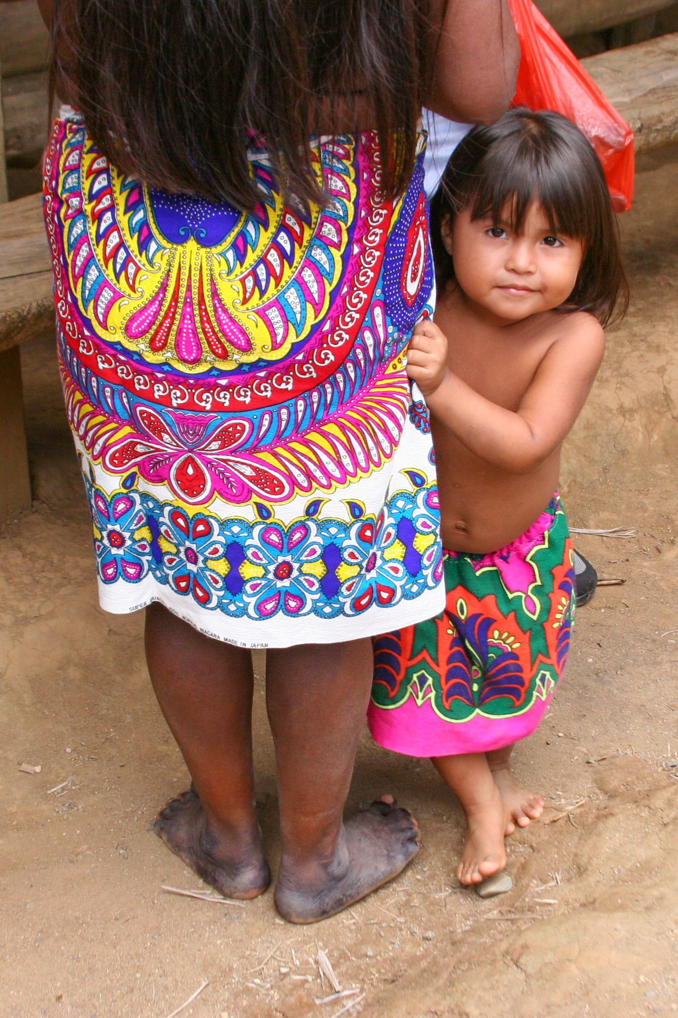 Bezoek een indianenstam